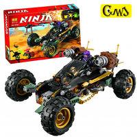 Lepin 06032 443pcs NinjagoINGlys Masters Of Spinjitzu Ninja Genuine Rock Roader Blocks Bricks Toys For Children
