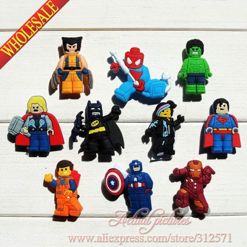 Free shipping New + Hot selling!!!100pcs  Super Man of  Movie Characters PVC shoe charms best gift for kids,Party gifts,so cute! hot selling for toyota ecu self learn tool free shipping with best price shipping free