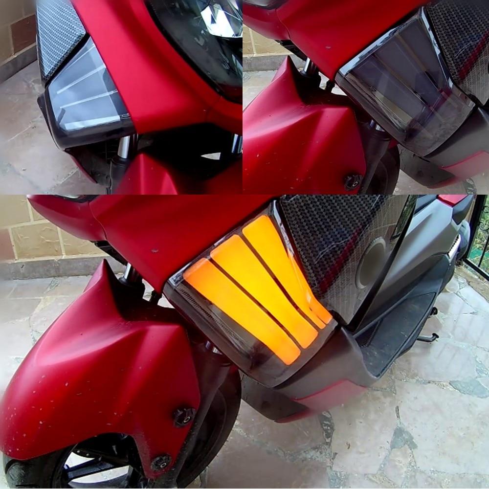 Modified motorcycle nmax turn light LED turnlamp turn signal yellow winker light for YAMAHA NMAX 155 NMAX155 NMAX125 2016-2019 Кубок