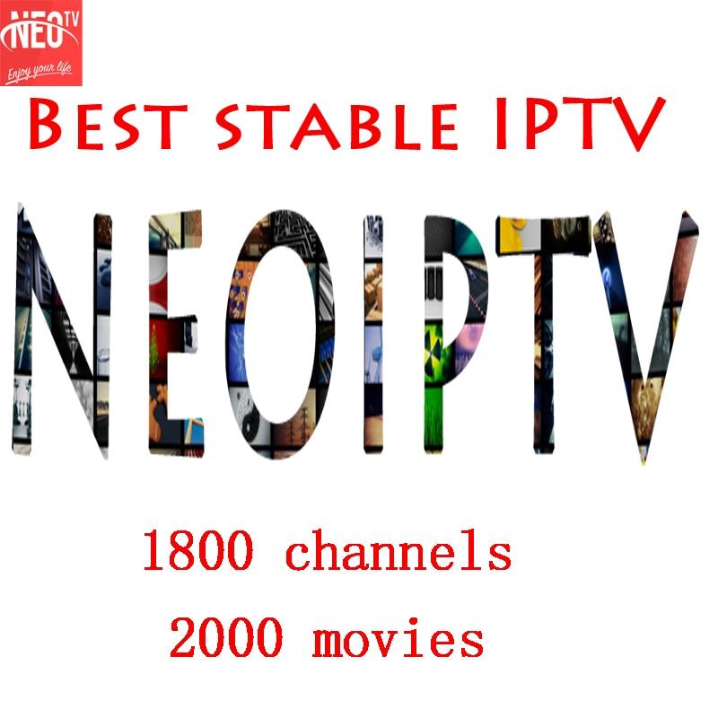 NEOTV iptv Subscription smart belgium arabic europe french italian one year IPTV code channels