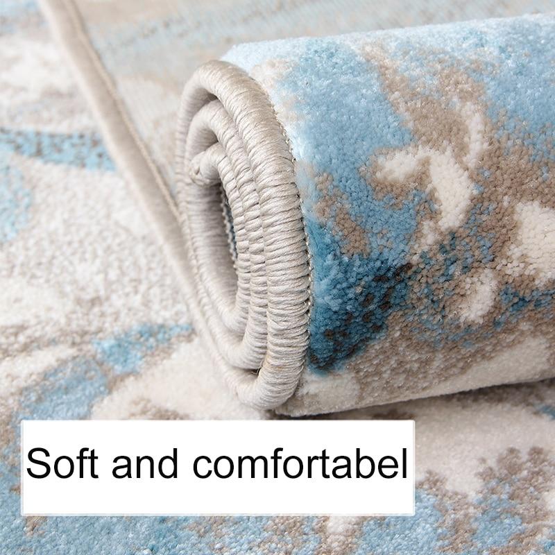 100% Polypropylene Carpets For Living Room Carpet Bedroom Modern Floor Mat Kid Room Tapete Bedside Rug Carpets For Wedding Home