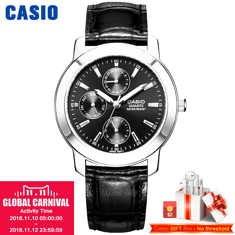 Casio watch Leisure sports waterproof men's watch MTP-1192E-1A MTP-1192E-7A casio watch men s business casual waterproof watch mtp 1383d 7a mtp 1384d 1a mtp 1384d 7a mtp 1384l 1a mtp 1384l 7a