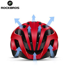 ROCKBROS Cycling MTB Road Helmet 3 in 1 Reflective Helmets Stamped Pneumatic Mens Safety Integrally