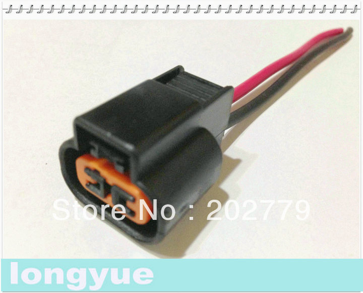 longyue 2pcs font b universal b font 2 pin O2 connector with cable font b Automotive universal automotive wiring harness custom automotive wiring Universal Wiring Harness Diagram at love-stories.co