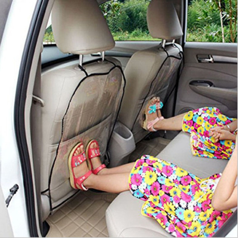 2pcs Child Car Safety Seat Protective Cover Chair Back Protective Pad Baby Kick Foot Skid Pad Car Anti-dirty Pad For Bmw B46 E90
