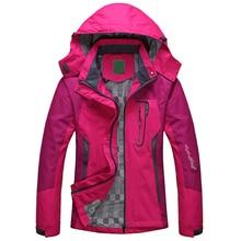 2019 Spring Autumn Winter Women Jacket Single thick outwear Jackets Hooded Wind waterproof Female Coat parkas Clothing