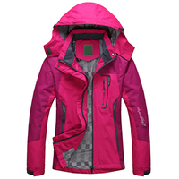 2019 Spring Autumn Winter Women Jacket Single thick outwear Jackets Hooded Wind waterproof Female Coat parkas Clothing