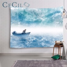 Tapestry Cloth Wall Hanging Covering Ins Head And South Korea Decorative Curtains Photo Background Fabric Flannel