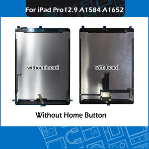"Image 1 - Pantalla Completa A1584 A1652, montaje de pantalla táctil en blanco y negro, para iPad Pro, pantalla de 12,9 ""con placa"