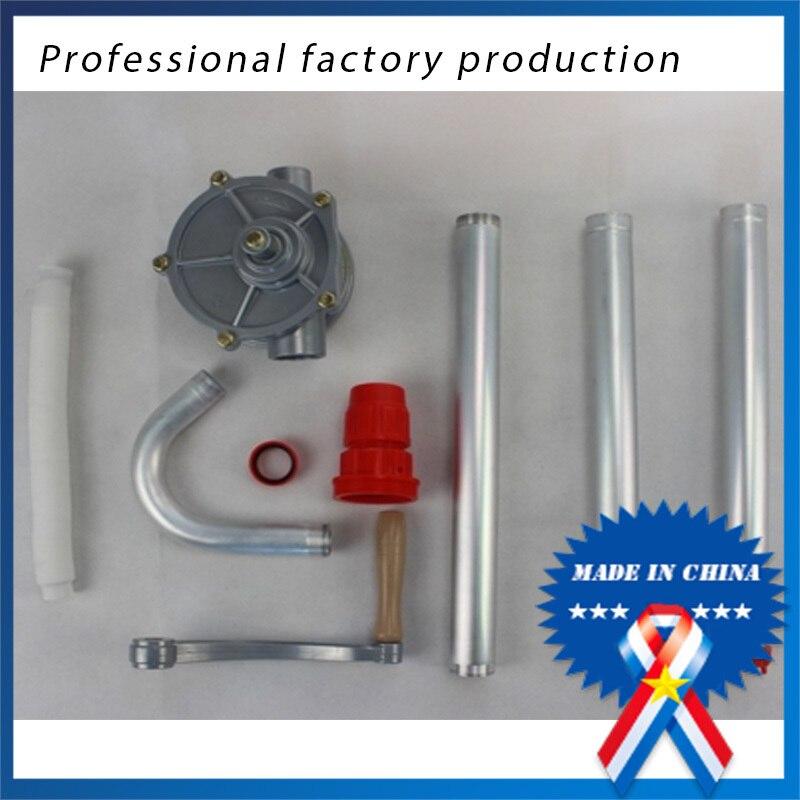 Pompe à huile manuelle manuelle en aluminium professionnelle, ensemble de pompage manuel