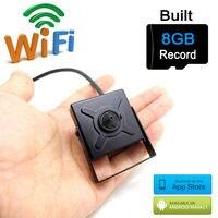 Mini Ip Camera Wifi 720p Cctv Security Wireless Micro Home Smallest Cam Hd 8G Sd Card