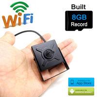 Mini ip camera wifi 720 p cctv wireless micro thuis kleinste cam hd 8G sd-kaartsleuf tf surveillance p2p wi-fi jienu