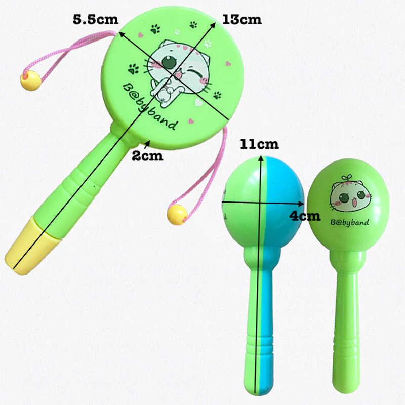 5 шт. детская погремушка для кроватки, игрушка для детей 0-12 13-24 месяцев, обучающий музыкальный мобильный телефон для новорожденных, детская коляска кроватка, Колокольчик для малышей