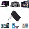 Bluetooth Car Kit 3.5mm AUX A2DP Sem Fio De Streaming de Áudio Music Receiver Adaptador Handsfree com Microfone para o Telefone MP3 Carro-styling