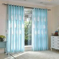 Free Shipping Long 2 7 Meters High Dandelion White Door Curtain Finished Half Shading Light Bedroom