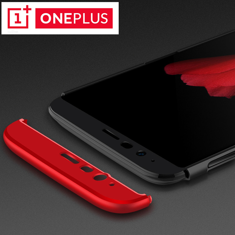 Oneplus 6 Oneplus 5 / 5T Cover Coque Fundas For Oneplus 6 Case 360 Full Protection Matte Hard PC For OnePlus 6T Back Case