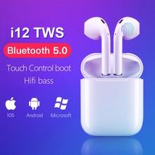 i12 tws 2019 Mini Wireless Headphones Bluetooth Earphone Stereo Music Headset pk