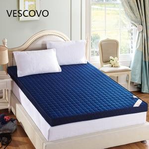Image 1 - ข้นหน่วยความจำโฟมที่นอนเสื่อทาทามิพับสูงReboundที่นอนฟองน้ำสำหรับครอบครัวผ้าคลุมเตียง