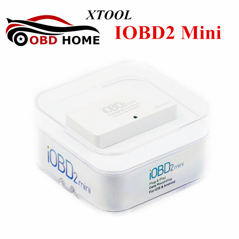 100% Original XTOOL iOBD2 Mini OBD2 EOBD Scanner Support Bluetooth 4.0 For iOS And Android Better than ELM327 IOBD Fast Shipping
