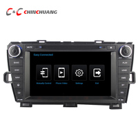 1024 600 Quad Core Android 5 1 1 Car DVD Radio GPS For Toyota Prius 2009