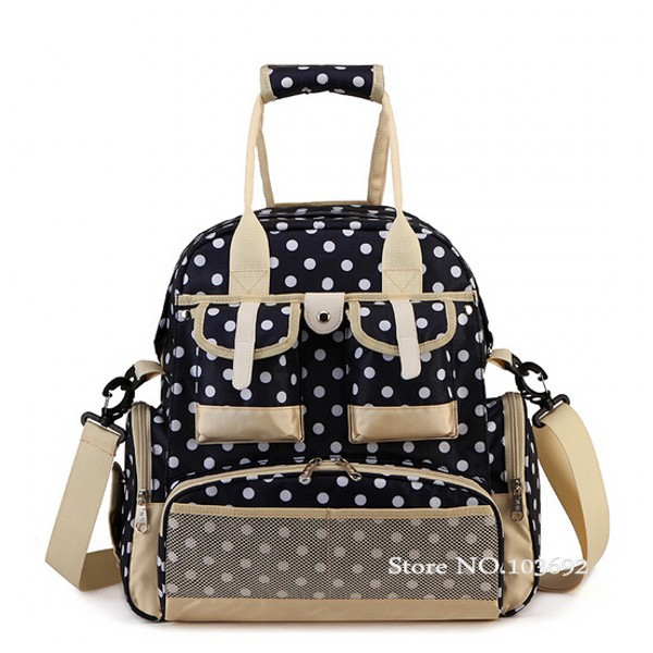 Baby Diaper Backpack Bag Maternity Lager Capacity Nappy Changing Bag