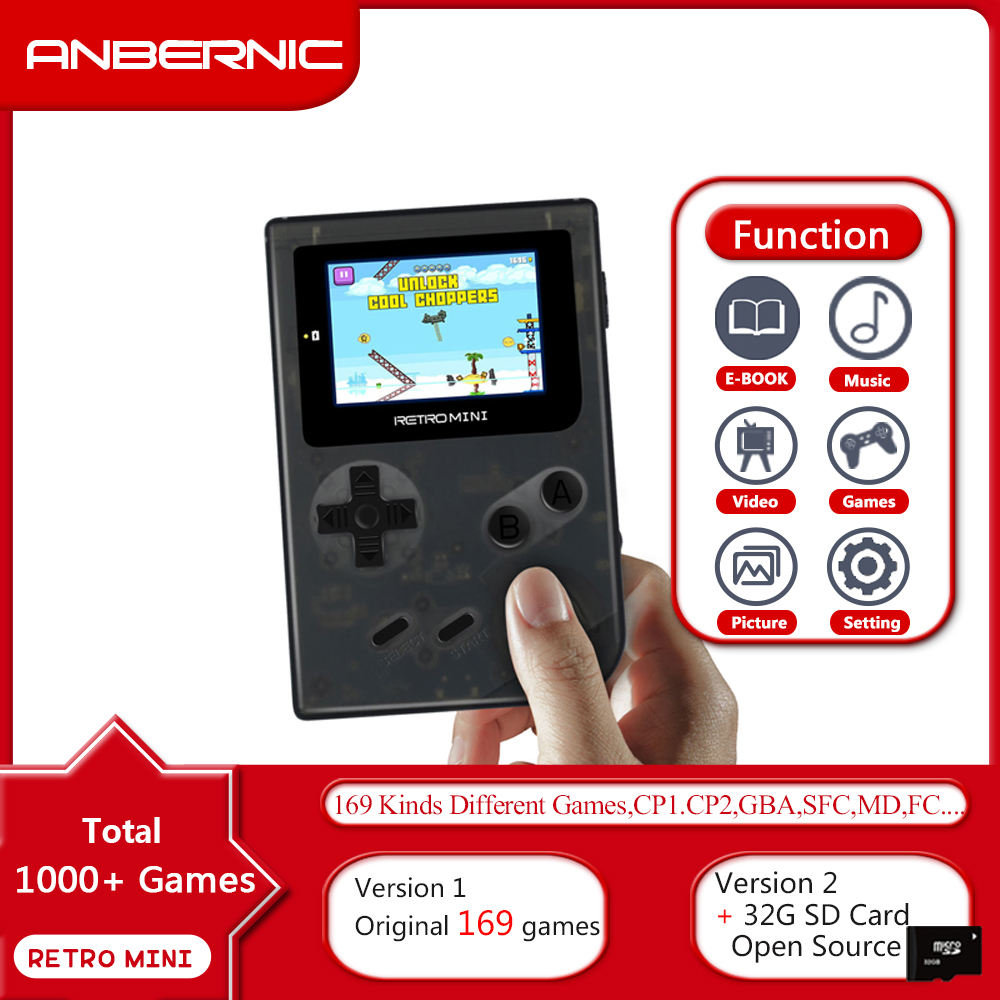 Retro Mini Retro Game Console 8Bit Retro Video Game Console Built In 1169 Games Handheld Gaming