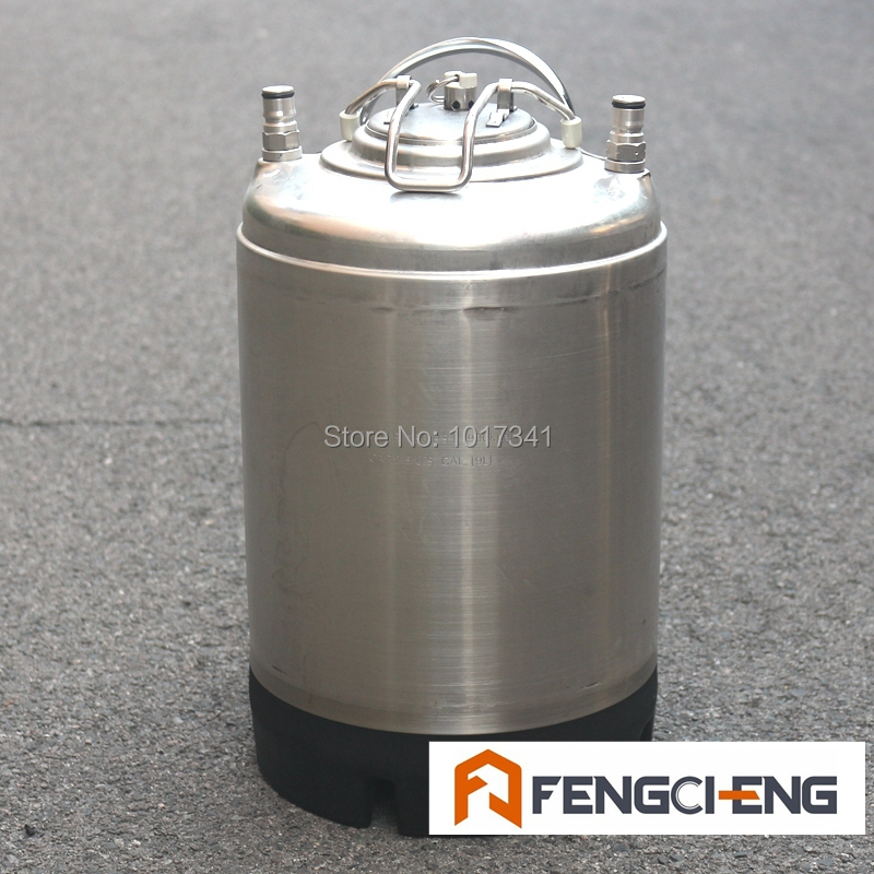 Reconditioned 2.5 Gal Cornelius Ball Lock Keg, Pressure Tested, Brand New Lid/Pressure Relief Valve/O-ring/Posts, Used Beer Keg