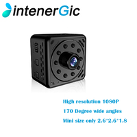 Magnetic separation type battery HD 1080P mini wifi smart camera Night Vision Mini Camcorder wide angle of 170 degrees Micro Ac