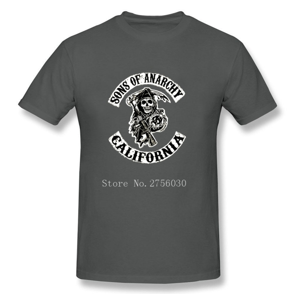 Design t shirt sell - Sons Of Anarchy T Shirt Cool Design Mens T Shirts Short Sleeve Tees Shirt Best Selling