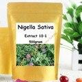 1 Pack Nigella Sativa Семян Черного Тмина Extract Powder 17.6 унц., 500 gram бесплатная доставка