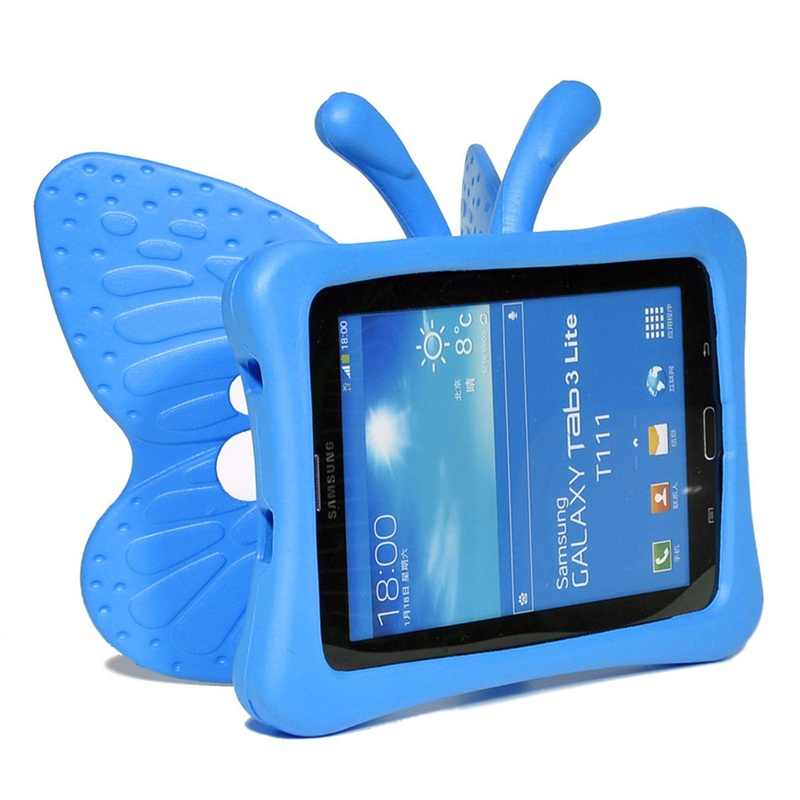 """7/"""" 8/"""" 9.7/"""" Kids Shockproof EVA Stand Case For Samsung Galaxy Tab A E 3 4 Tablets"""
