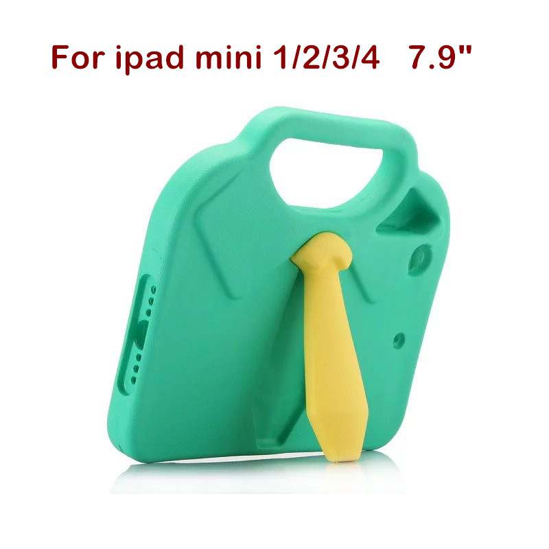 Fashion Case for iPad mini 1 2 3 Tablet Cover for iPad mini 4 Kickstand Holder Back Kid Cartoon Shockproof Protective Shell Gift