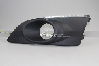 Osmrk led drl daytime running light for Chevrolet aveo sonic, yellow turn signal, wireless switch control