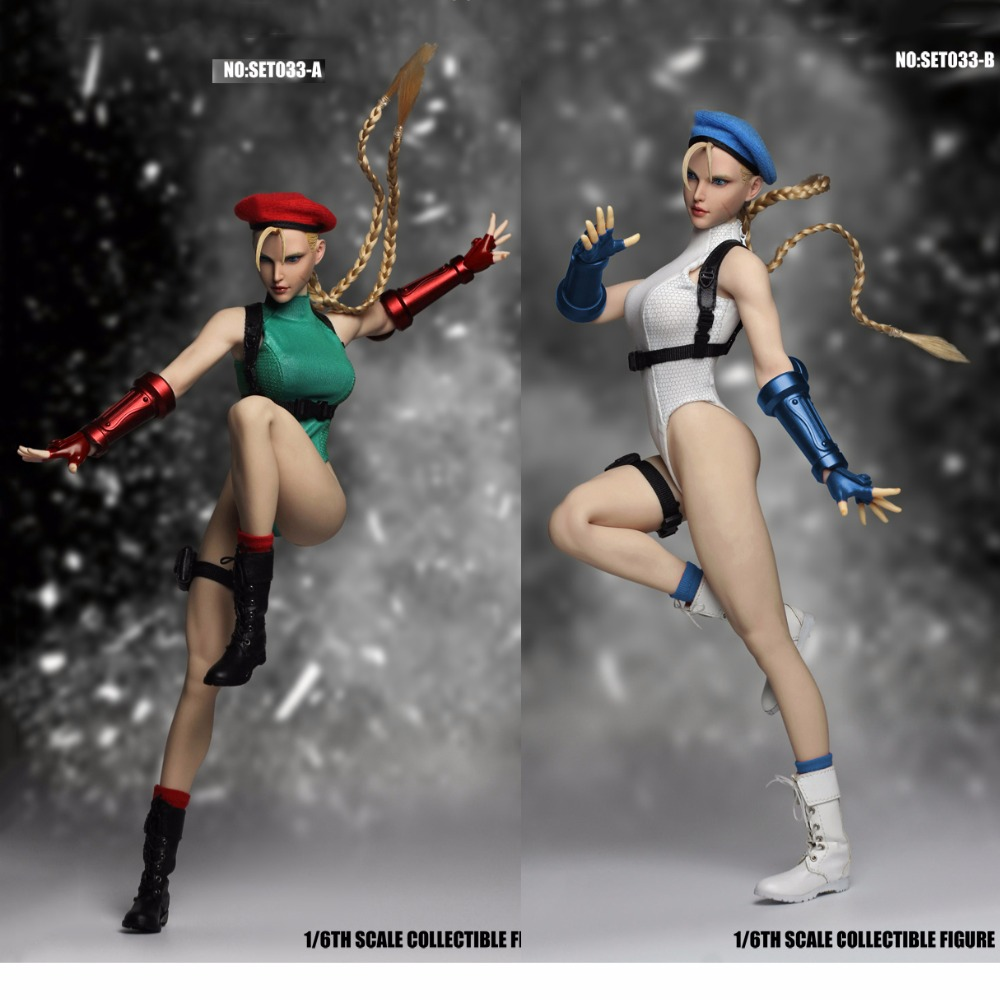 SUPER DUCK SET033A/SET033B 1/6 Cosplay Special Forces Fighting Goddess Figure Model clothes for 12 PH pale S22A body figureSUPER DUCK SET033A/SET033B 1/6 Cosplay Special Forces Fighting Goddess Figure Model clothes for 12 PH pale S22A body figure