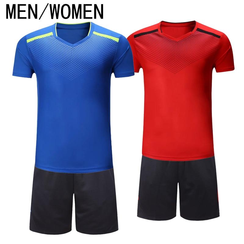 Теннис рубашки, дышащий, сухой одежда для обувь для мужчин и женщин, бадминтон, настольный теннис, одежда, фитнес (рубашки + Шорты)