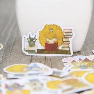 Image 3 - 40 шт., детские игрушки «Маленький принц и кошка» Сумка для костюма. Кисть с изображением персонажа животного. Сделай Сам Скрапбукинг