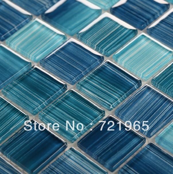 Blue Glass Mosaic For Swimming Pool Tile Cgmt105 Glass Mosaic Tile Kitchen Backsplash Bathroom