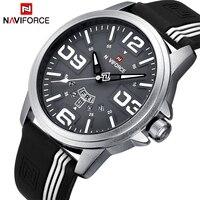 Mens Watches NAVIFORCE Brand Men Waterproof Fashion Casual Sport Watch Man Quartz Clock Leather Wristwatches Relogio