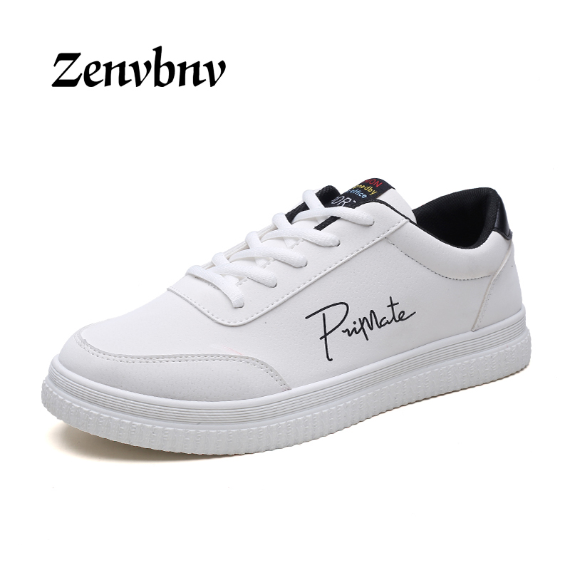 ZENVBNV Unisex Fashion White Casual Cheap shoes Mens Trainers Flats Valentine Shoes causal shoes zapatos hombre large size 35-45