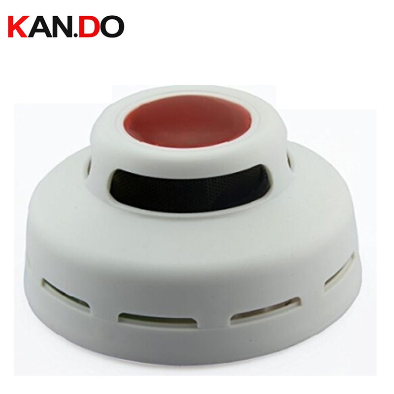 Independant Smoke Alarm Smoke Detector Alarm Photoelectric Sensor Detects Flaming Fires Hazard Battery Powered By 9V
