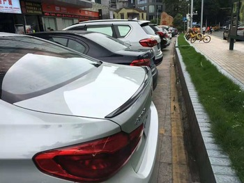 Osmrk unpainted ABS tail wing rear spoiler for BMW G30