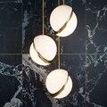 Современные светодиодные подвесные светильники  люстра для спальни  подвесные светильники для скандинавских гостиной  подвесные светильн...