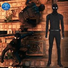 Spider Man Far From Home Costume  Halloween Cosplay Kids Anime Sneak Suit Kigurumi Adult for Men Spiderman