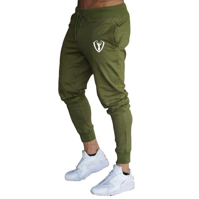Casual Men's Workout Elastic Pants 6