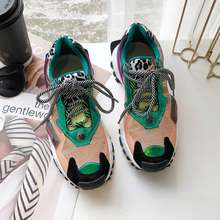 Colorful Sneakers Women Summer Air Mesh Breathable Platform