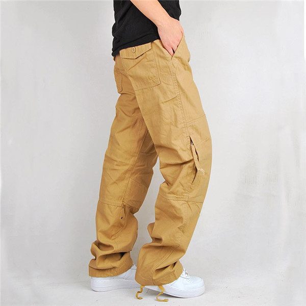 Popular Mens Khaki Cargo Pants-Buy Cheap Mens Khaki Cargo Pants ...