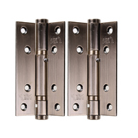 2pcs Set Stainless Steel Cabinet Door Hinge 90 Degree Self Closing 8 Holes Boat Marine Cabinet