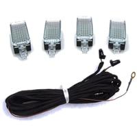 OEM LED Pathway Lighting Cable Pour VW Skoda Octavia Jetta Golf PassatSiege Leon Alhambra A3 A4