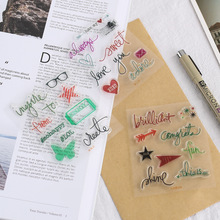 Handbook Diary Seal DIY Transparent Color Album AccessoriesHandbook