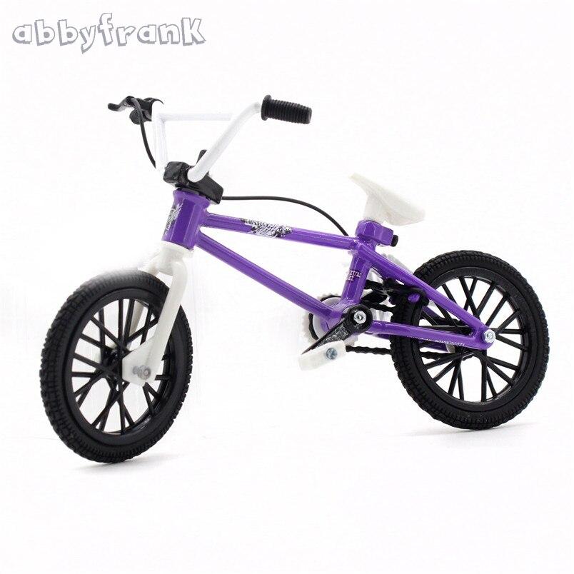 Abbyfrank Mini doigt BMX Flick Trix doigt vélos BMX jouets Gadgets pour Tech Dec professionnel Mini vélo nouveauté Gag jouets